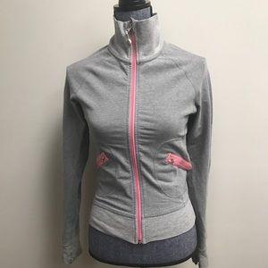 Lululemon Gray Pink Zip Up Jacket